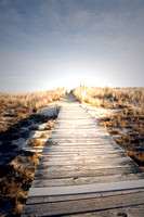Boardwalk To Nowhere, Plum Island, MA